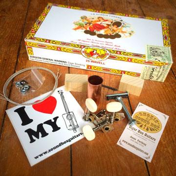 La Gloria Cubana Cigar Box Guitar Kit