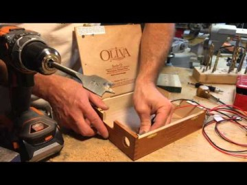 How To Electrify Your Cigar Box Guitar - The Easy Way.